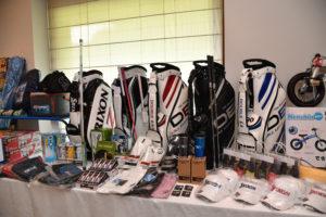 東京 町田 ゴルフスクール EAGLE18 10周年記念コンペ 表彰式 2017年6月 ゴールド栃木プレジデント コンペ賞品