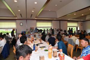 東京 町田 ゴルフスクール EAGLE18 10周年記念コンペ 表彰式 2017年6月 ゴールド栃木プレジデント