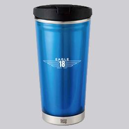 東京 ゴルフ レッスン 桑田泉 EAGLE18 オリジナルグッズ マグカップ ブルー
