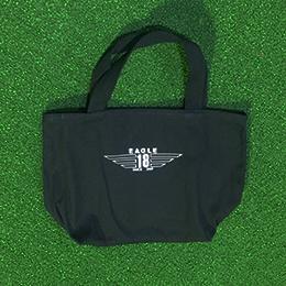 東京 ゴルフ レッスン 桑田泉 EAGLE18 オリジナルグッズ トートバッグ 黒