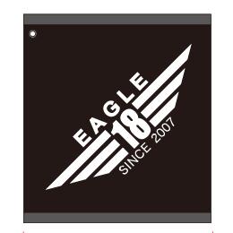 東京 ゴルフ レッスン 桑田泉 EAGLE18 オリジナルグッズ タオル